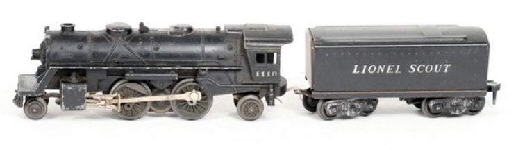 Lionel Vintage Steam Locomotive